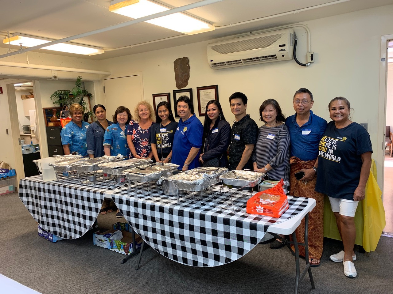 The first annual Thanksgiving dinner for clients of Pacific Gateway Center in Kalihi