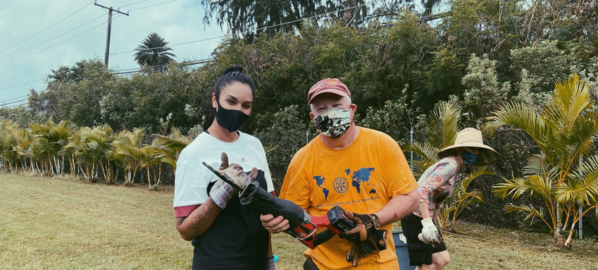 Ho'ola Na Pua: Cleaning and Yardwork Service Activity