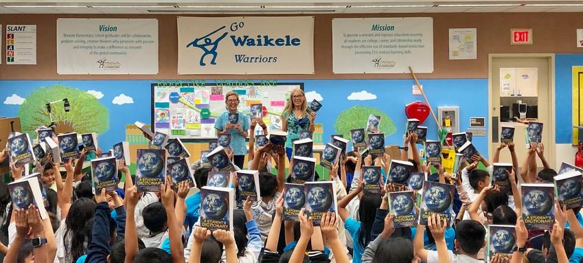 Waikele Elementary DIctionary Distribution
