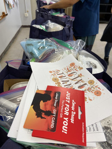 2020 Care Packages for 20 independent living members at Waipahu Aloha Clubhouse