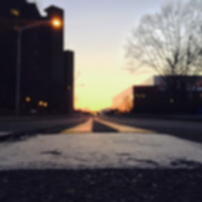 #sbu #stonybrook #longisland #road #sun #sunset #dusk #nightfall hey