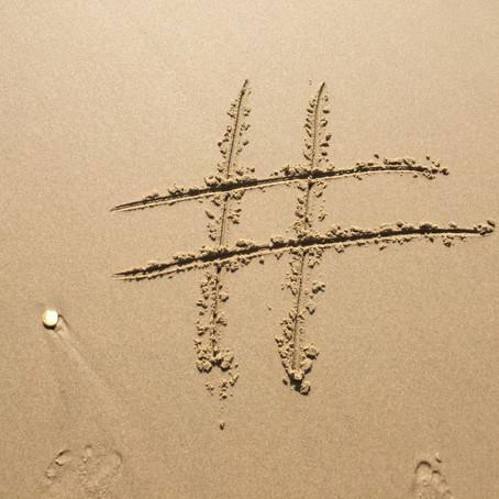N'oubliez pas les hashtags