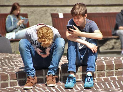 Les ados et leurs portables