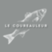 Logo Le Coureauleur, poissonnerie-boutique et dégustation Rivedoux-Plage