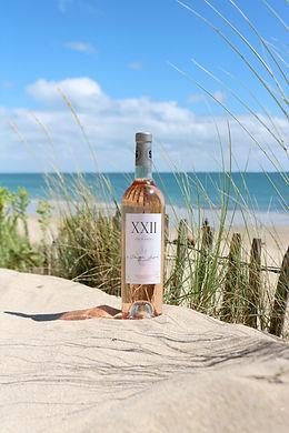 XXII, le dernier rosé de de Sébastien Laffitte sommelier-vigneron, un beau vin parfait pour l'été.
