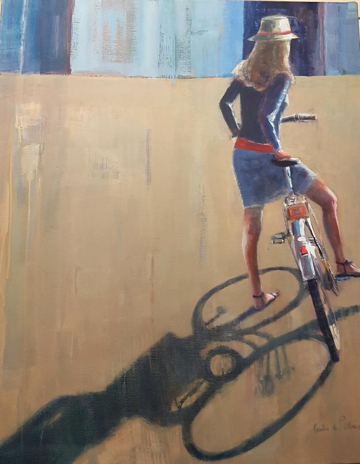 Le_vélo,_100x81cm