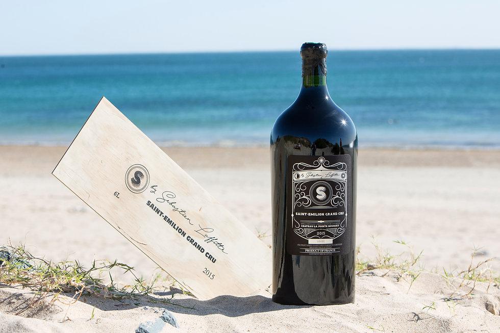 S, le Saint-Émilion Grand Cru de Sébastien Laffitte sommelier-vigneron, un superbe Bordeaux.