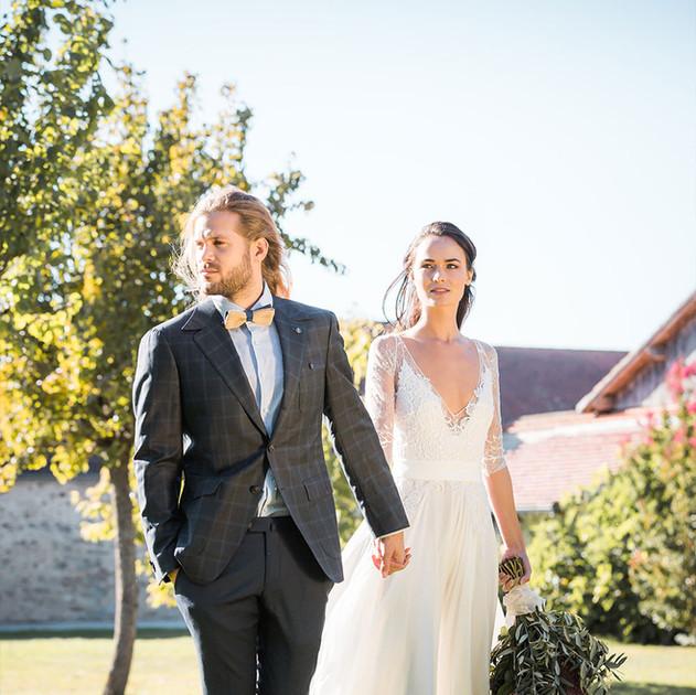 Robe mariée Mirabeau