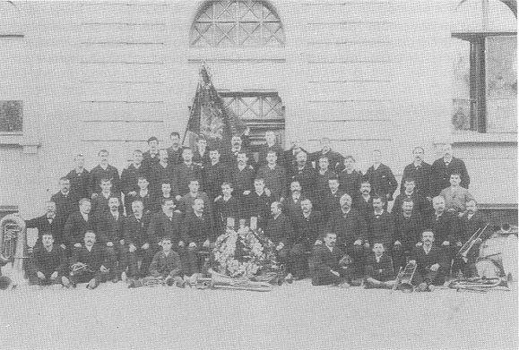musique municipale de carouge en 1891