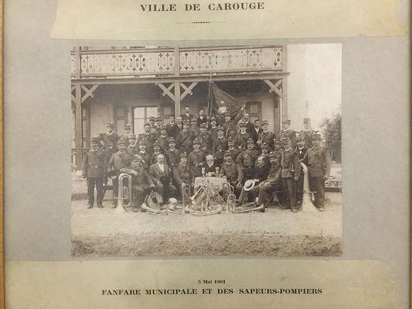 musique municipale de carouge en 1901