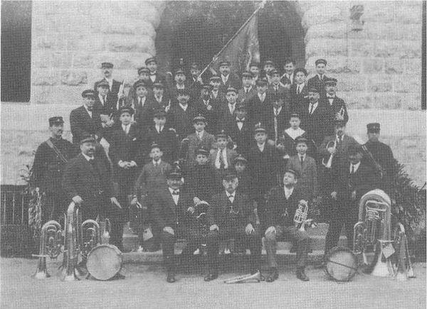 musique municipale de carouge en 1916