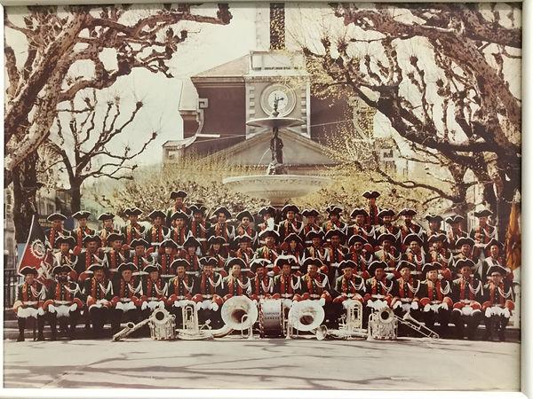 musique municipale de carouge en 1982
