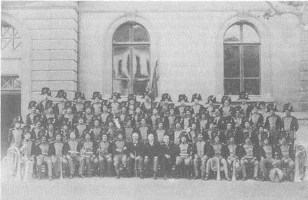 musique municipale de carouge en 1925