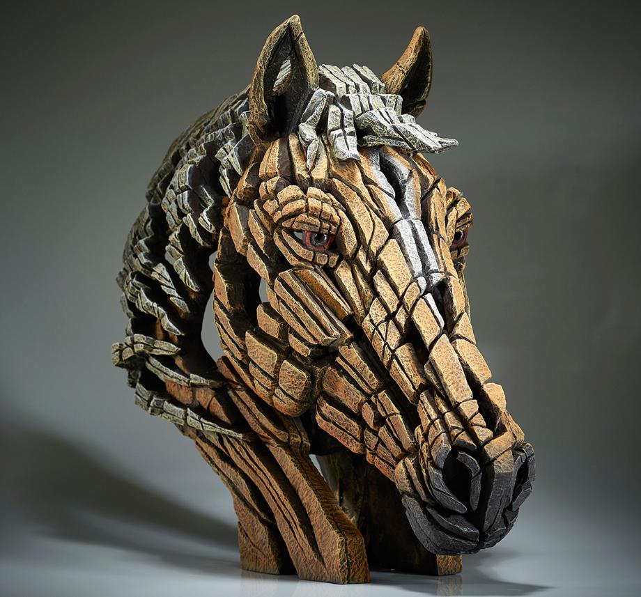 Horse Bust (Palomino)