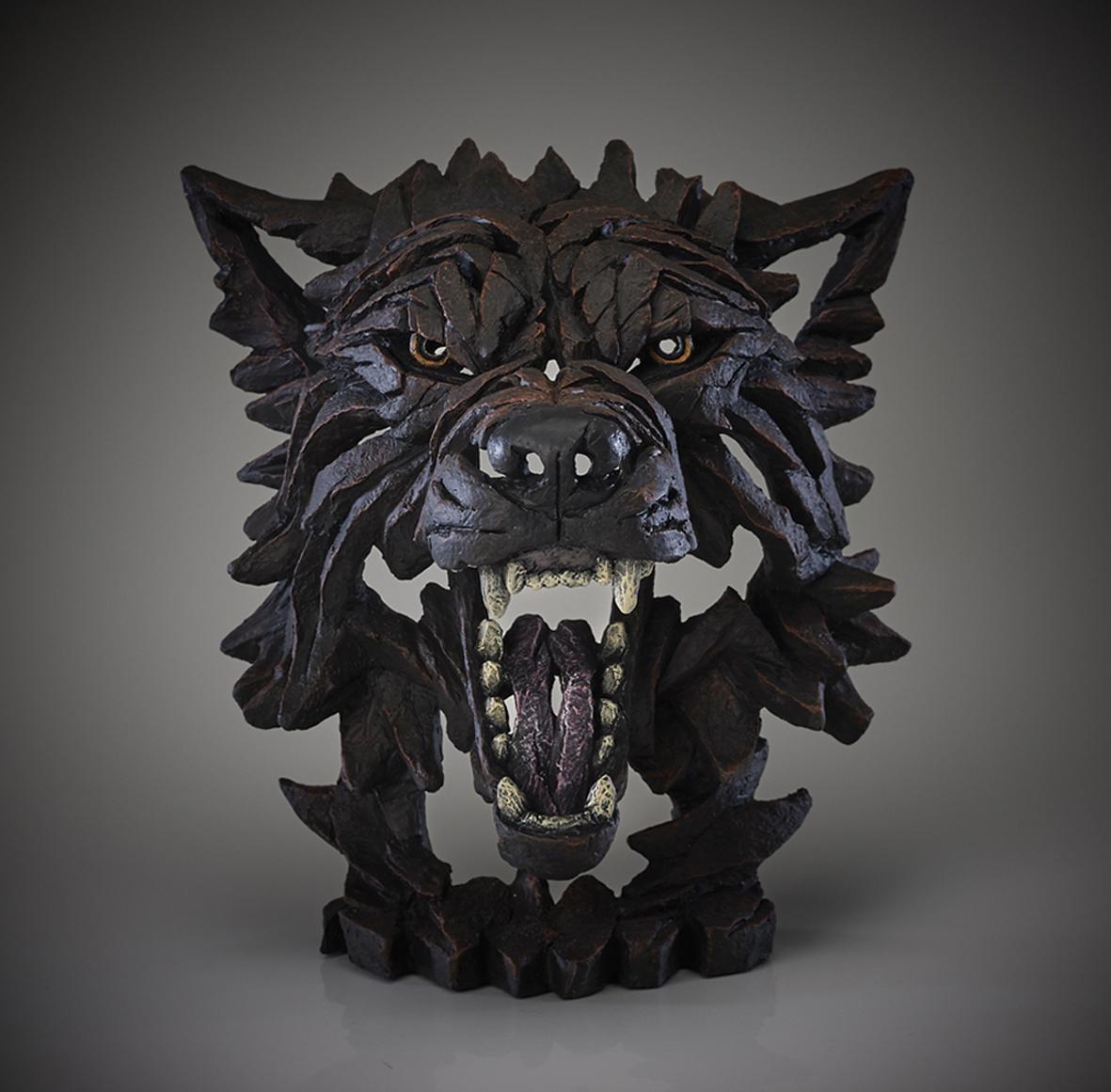 Wolf-Büste (Fenrir)