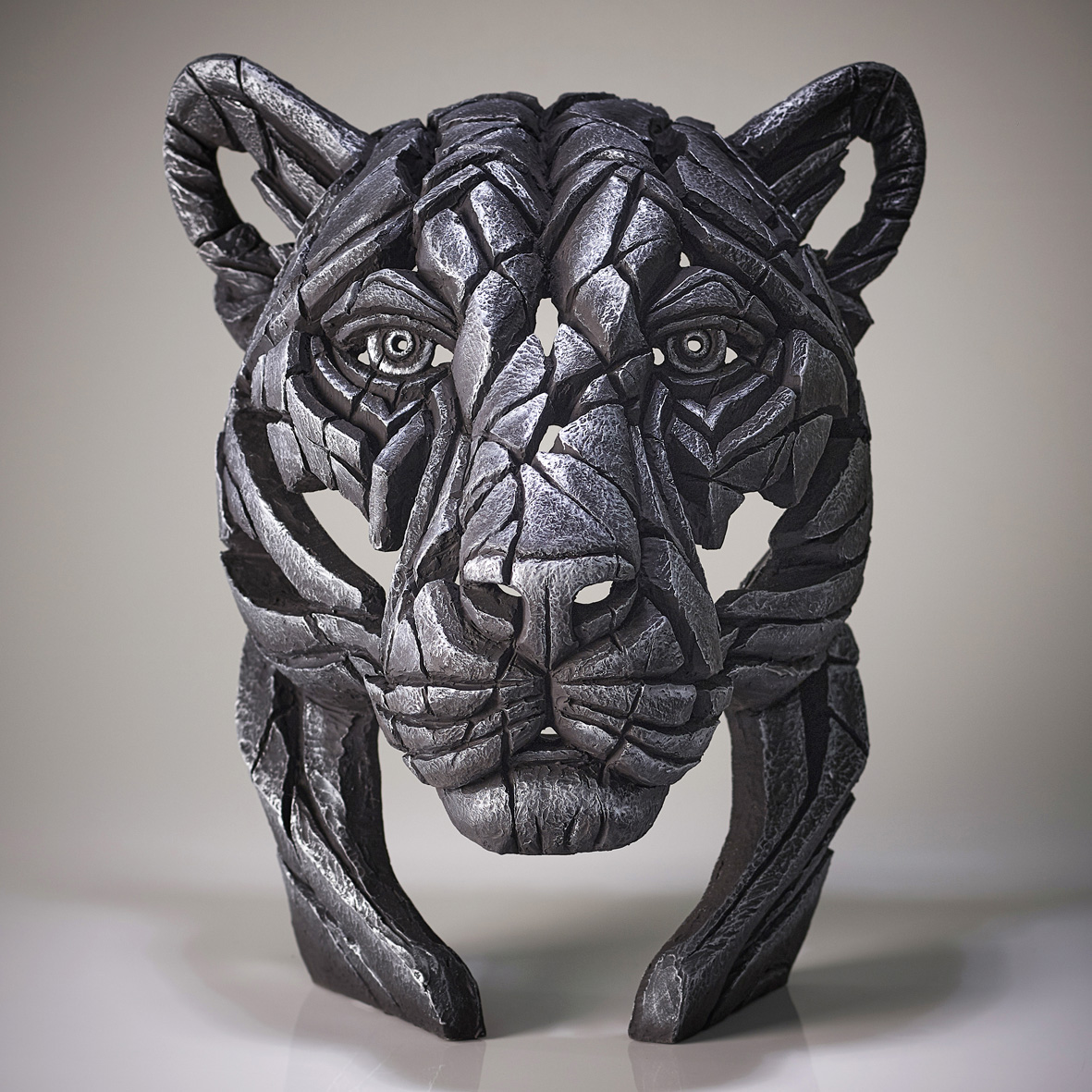 Panther Bust 'Silent Silver' (Silver)