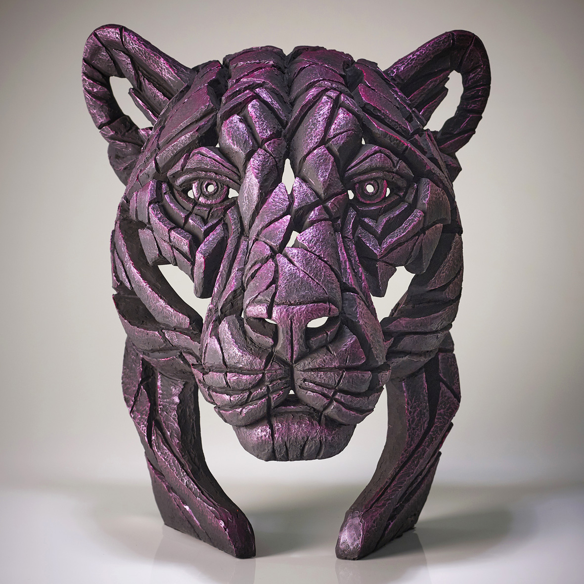 Panther Bust 'Rinky Dink' (Pink)