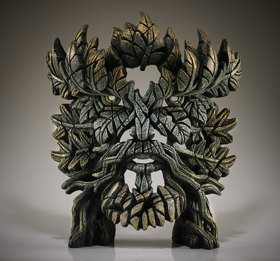 Green Man Bust