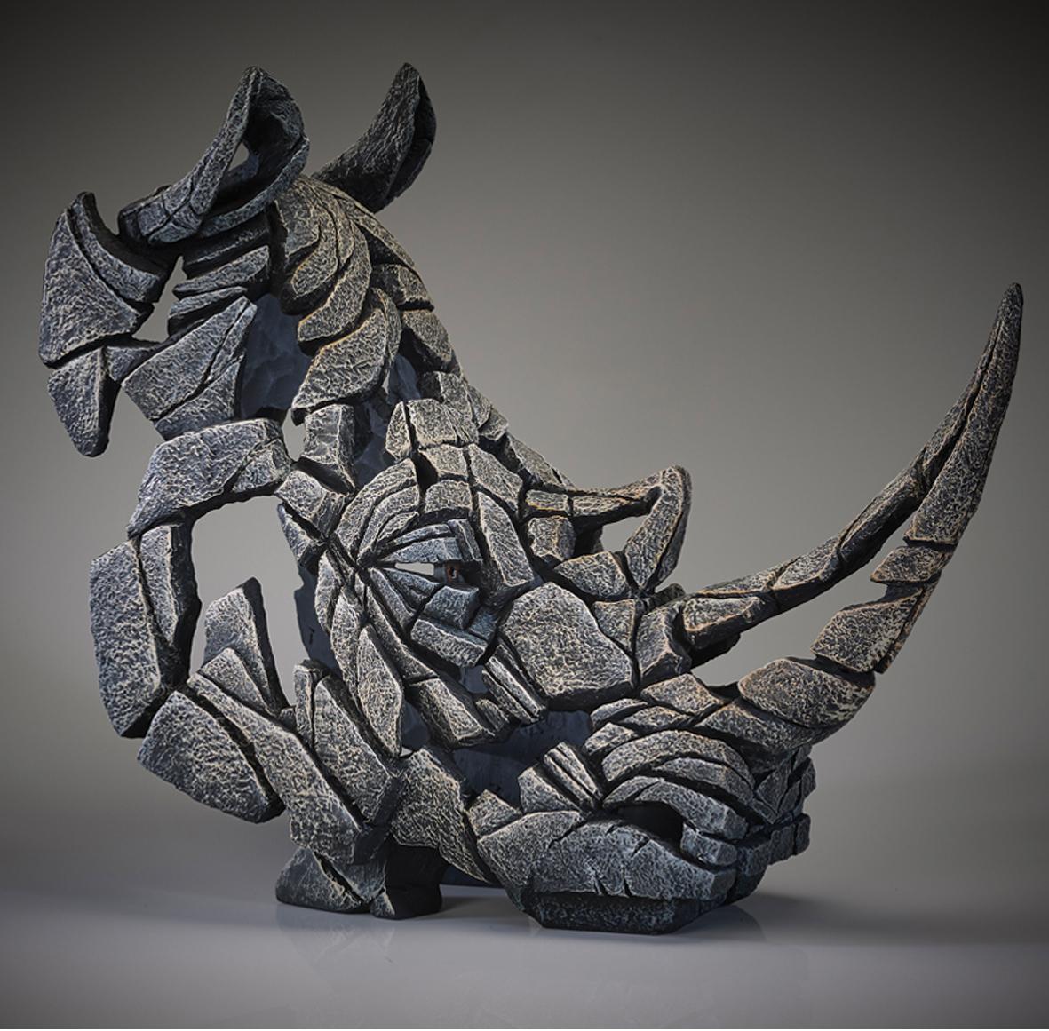 Rhinoceros - Bust (White)