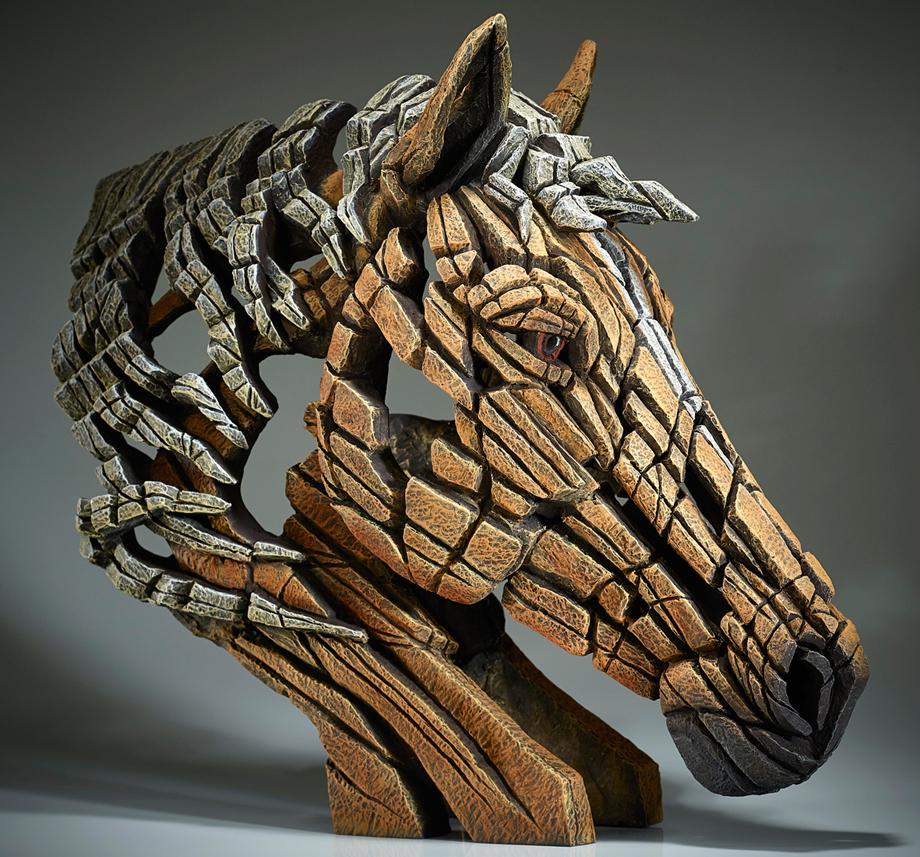Pferdebüste (Palomino)