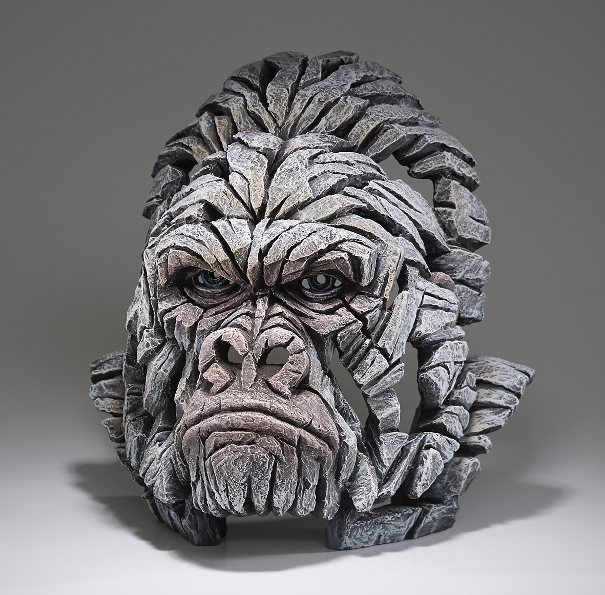 Gorilla-Büste (weiß)
