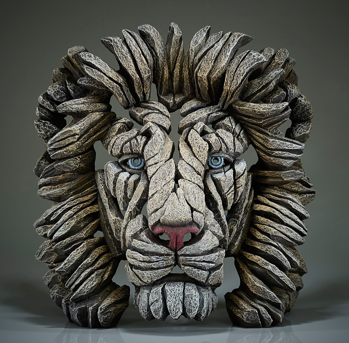 Lion Bust - White Lion