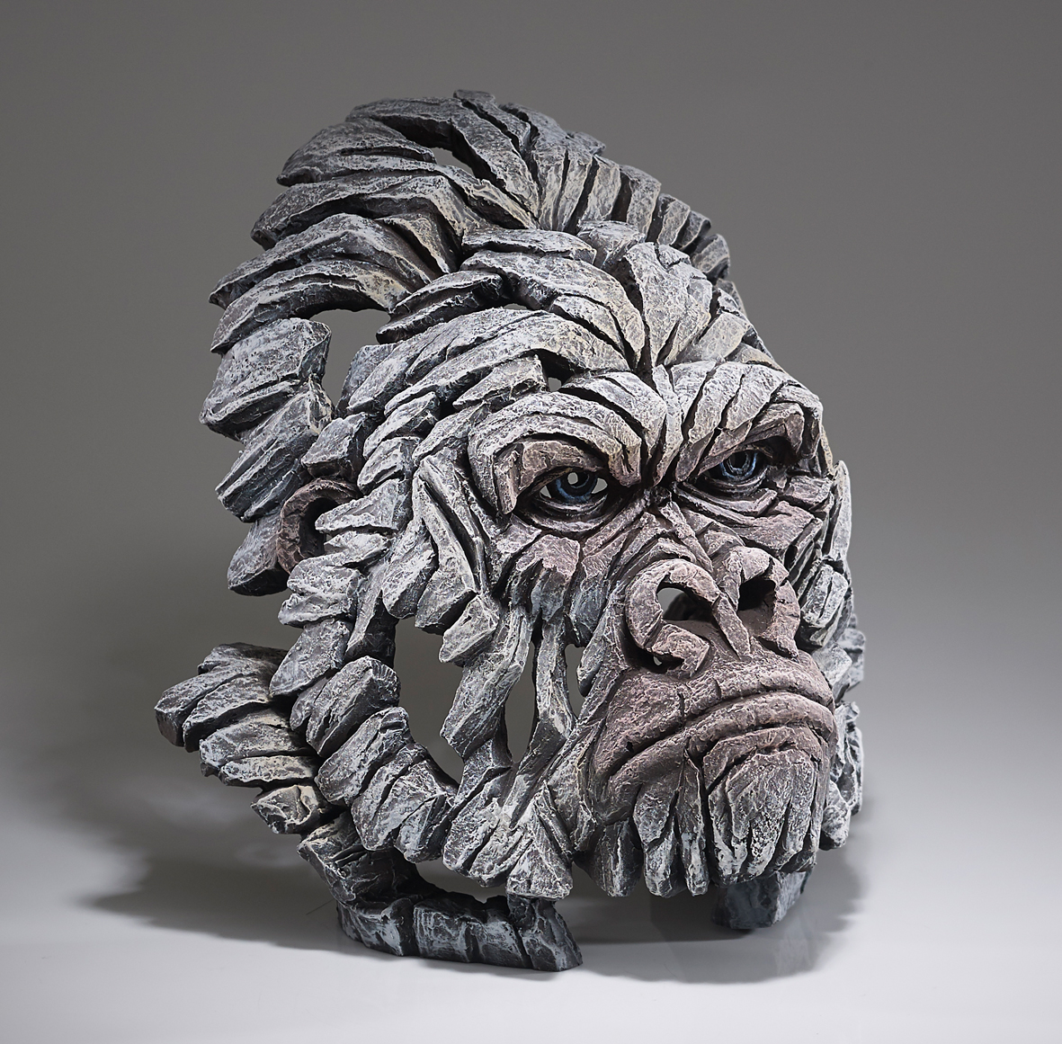 Gorilla - Bust (White)