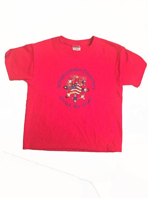 Patriotic Red Shirt - Tuesday Shirt - ADULT