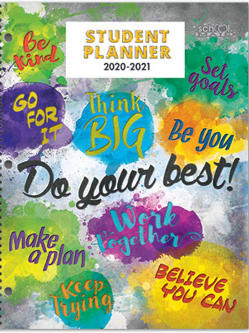 Student Planner for 2nd through 5th Grade