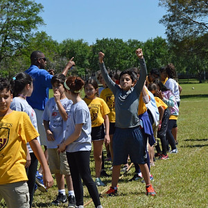 Field Day 2nd and 3rd Grade