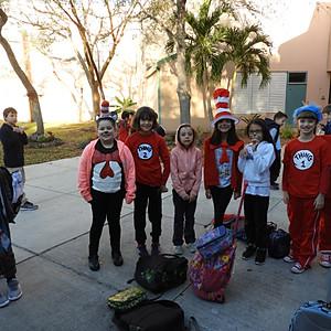 Dr. Seuss Week Winners