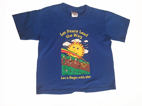 Adult Peace Day Blue - Thursday Shirt