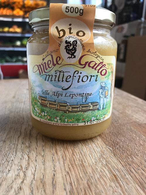 miele mille fiori bio alpi Leopontine miele gallo