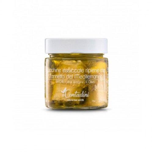 iCONTADINI Zucchine Secche Ripiene con Tonnetto del Mediterraneo 230gr