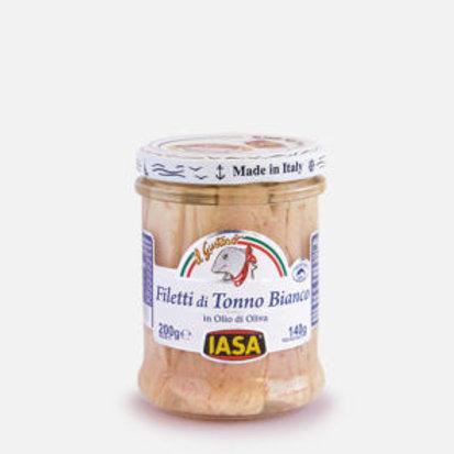 IASA Filetti di Tonno Bianco in olio d'oliva 200gr