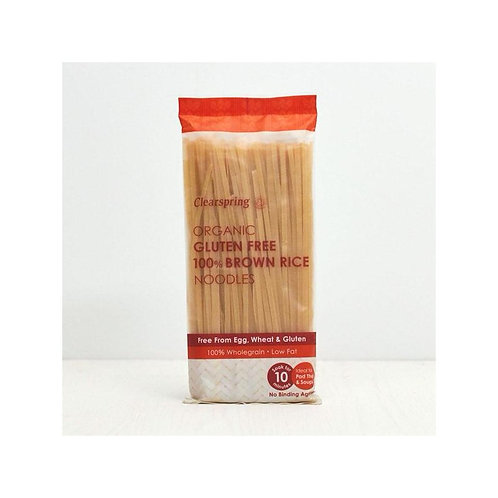 CLEARSPRING Noodles Riso integrale 200gr