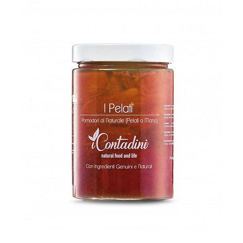 iCONTADINI Pomodori pelati al naturale 550gr