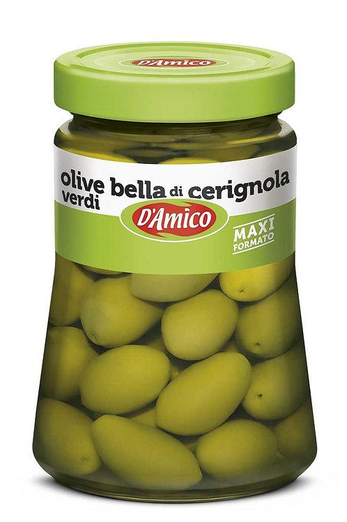 Olive verdi Bella di Cerignola 730gr D'AMICO