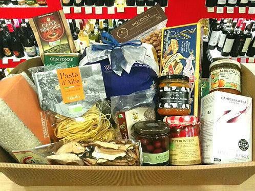 cesta natalizia natale tradizionale gourmet natale 2018 il casolino
