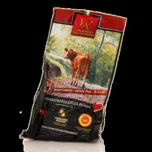 Parmigiano reggiano Vacche rosse 30 mesi stagionatura senza lattosio