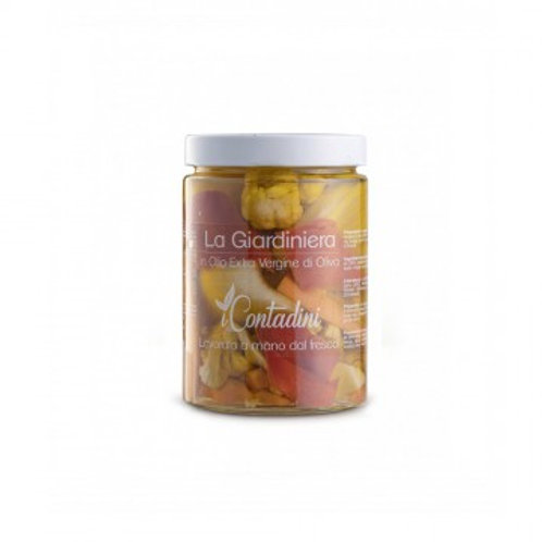 iCONTADINI La Giardiniera (in olio EVO) 550gr