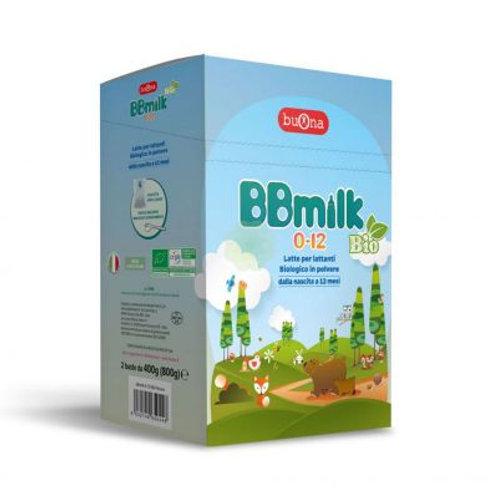 BBmilk 0-12 Bio polvere – 10 Buste Da 40 G  - Latte biologico in polvere