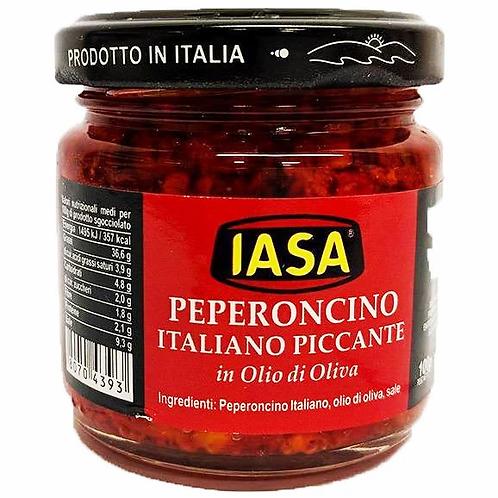 Peperoncino italiano piccante in olio 100gr IASA