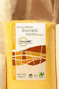 Farina di mais bramata 1kg BIO - TerraBio