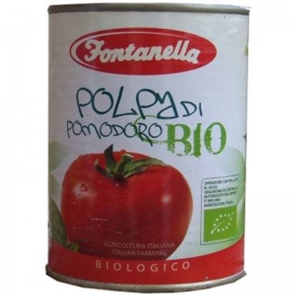 FONTANELLA1957 Pomodori Pelati BIO latta 400gr