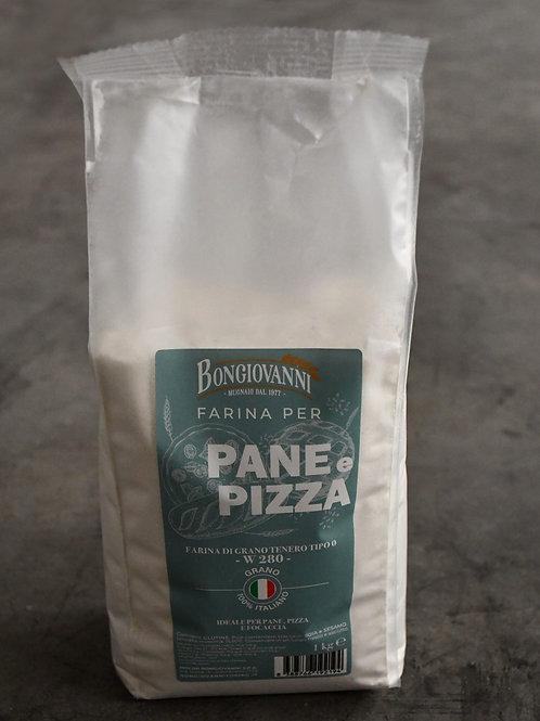Tipo 0 per Pane e Pizza – 1 kg – 280 W - MOLINI BONGIOVANNI