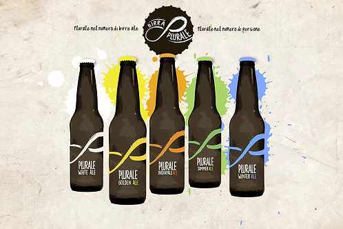 Birra artigianale PLURALE 33cl