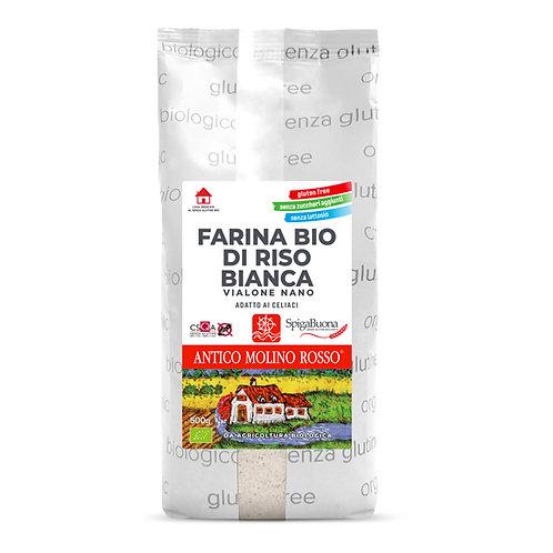 Farina di RISO 500g ANTICO MOLINO ROSSO