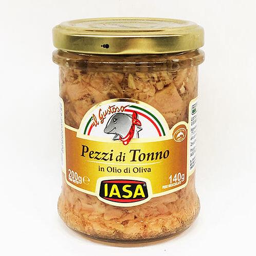 IASA Pezzi di Tonno in olio d'oliva 200gr