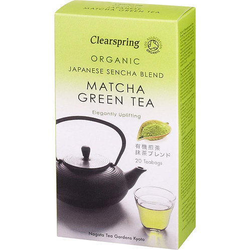 Clearspring Matcha Green Tea Blend 20filtri